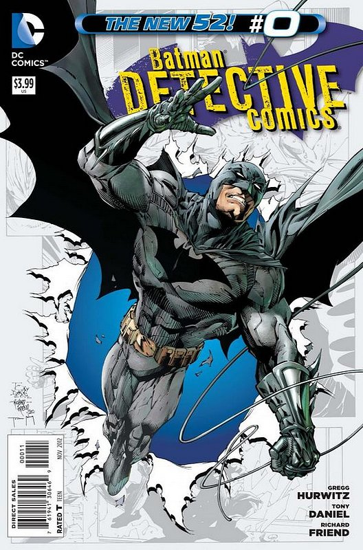 Cover of Detective Comics (Vol 2) #0. One of 250,000 Vintage American Comics on sale from Krypton!