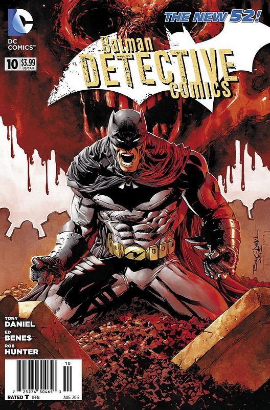 Cover of Detective Comics (Vol 2) #10. One of 250,000 Vintage American Comics on sale from Krypton!
