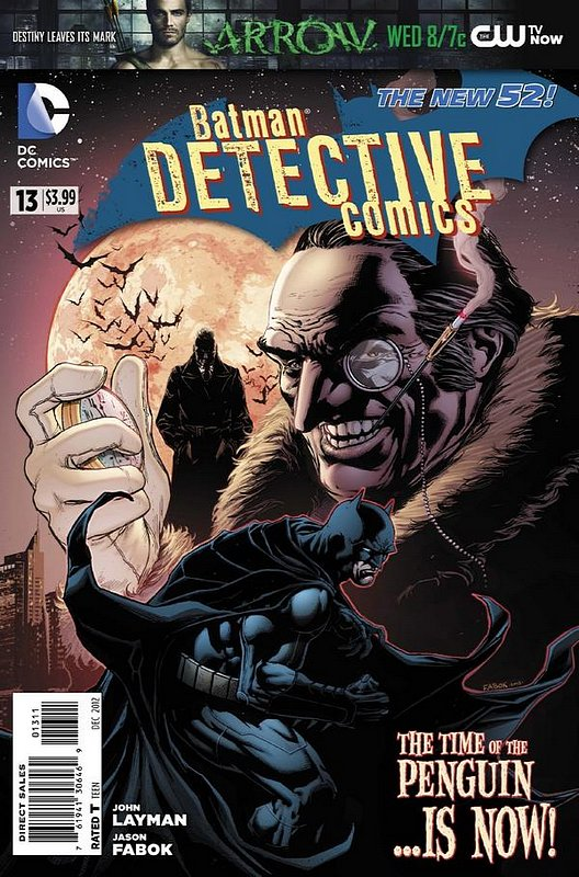 Cover of Detective Comics (Vol 2) #13. One of 250,000 Vintage American Comics on sale from Krypton!