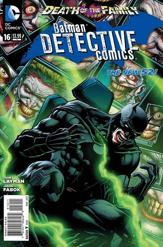 Cover of Detective Comics (Vol 2) #16. One of 250,000 Vintage American Comics on sale from Krypton!