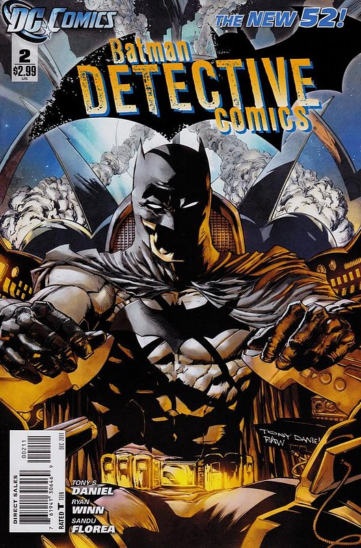 Cover of Detective Comics (Vol 2) #2. One of 250,000 Vintage American Comics on sale from Krypton!