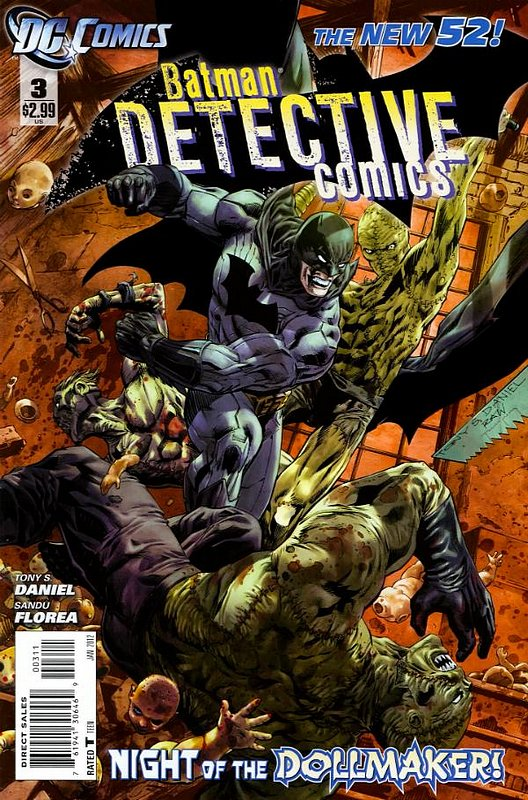 Cover of Detective Comics (Vol 2) #3. One of 250,000 Vintage American Comics on sale from Krypton!