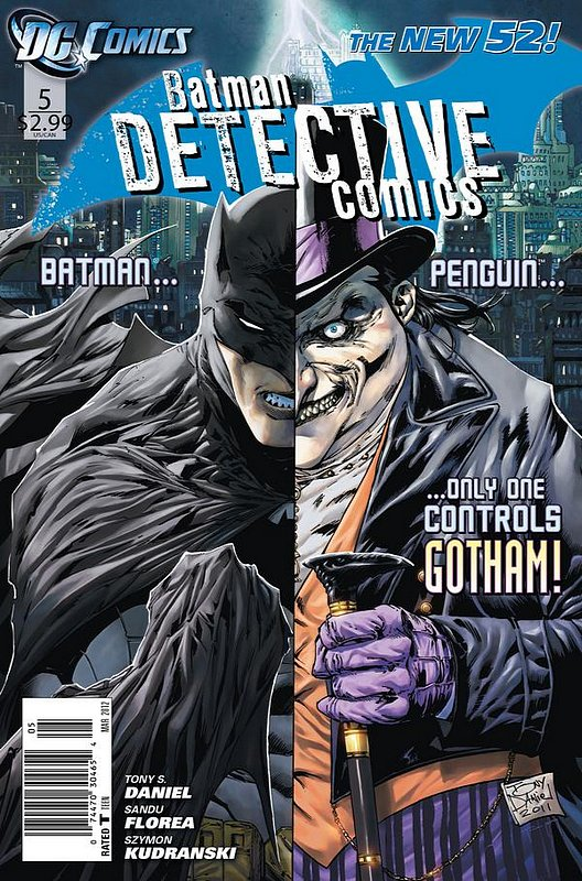 Cover of Detective Comics (Vol 2) #5. One of 250,000 Vintage American Comics on sale from Krypton!