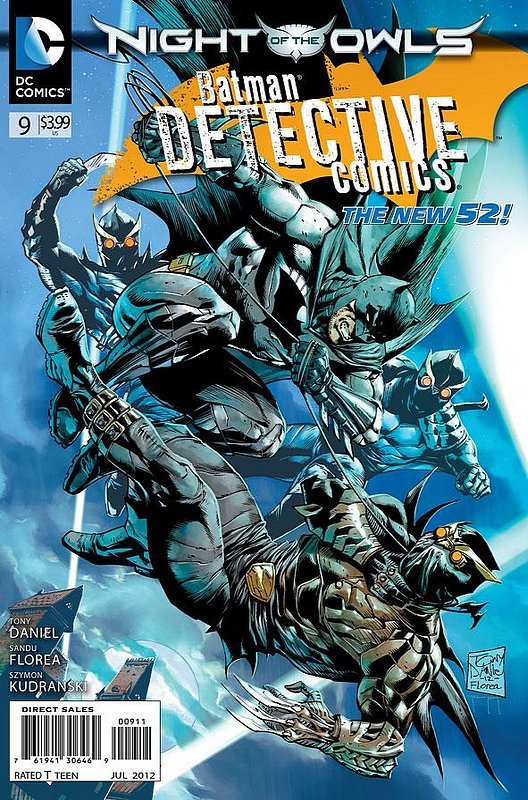 Cover of Detective Comics (Vol 2) #9. One of 250,000 Vintage American Comics on sale from Krypton!