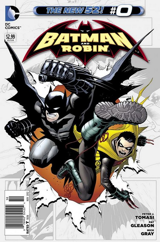 Cover of Batman and Robin (Vol 2) #0. One of 250,000 Vintage American Comics on sale from Krypton!