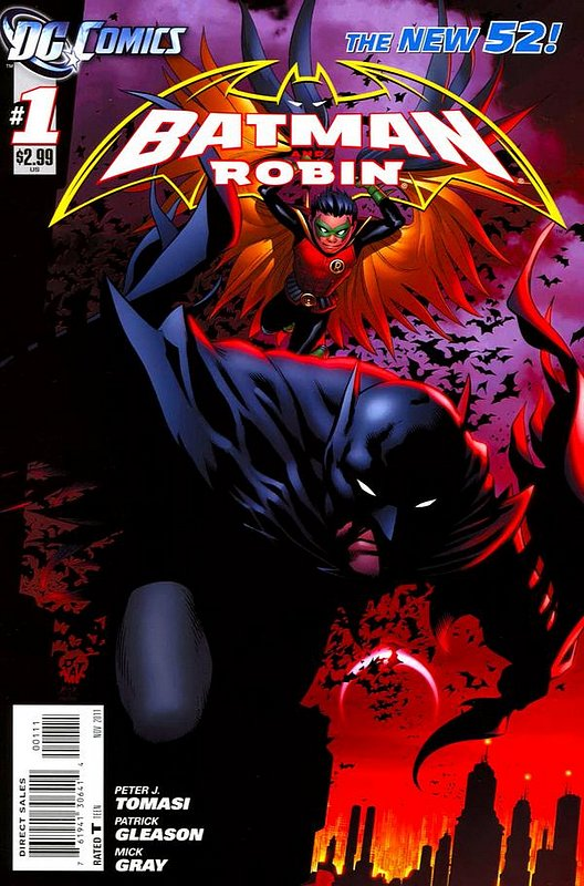 Cover of Batman and Robin (Vol 2) #1. One of 250,000 Vintage American Comics on sale from Krypton!