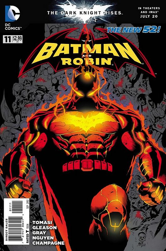 Cover of Batman and Robin (Vol 2) #11. One of 250,000 Vintage American Comics on sale from Krypton!