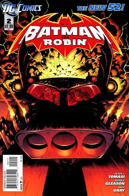 Cover of Batman and Robin (Vol 2) #2. One of 250,000 Vintage American Comics on sale from Krypton!