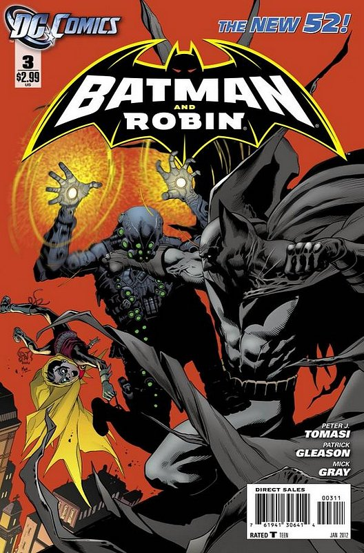 Cover of Batman and Robin (Vol 2) #3. One of 250,000 Vintage American Comics on sale from Krypton!