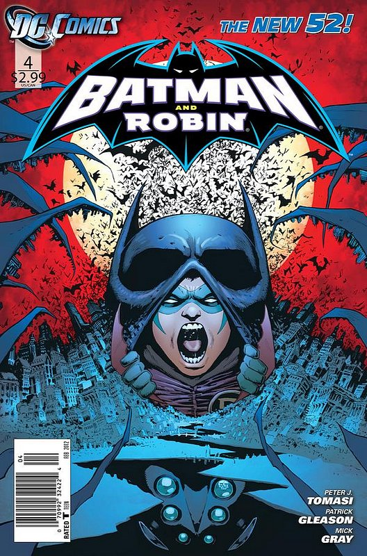Cover of Batman and Robin (Vol 2) #4. One of 250,000 Vintage American Comics on sale from Krypton!