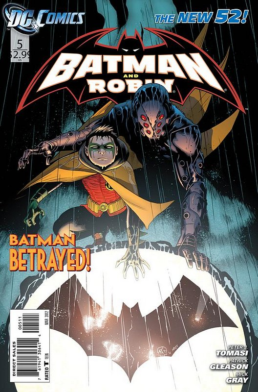 Cover of Batman and Robin (Vol 2) #5. One of 250,000 Vintage American Comics on sale from Krypton!