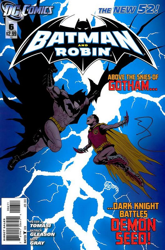 Cover of Batman and Robin (Vol 2) #6. One of 250,000 Vintage American Comics on sale from Krypton!
