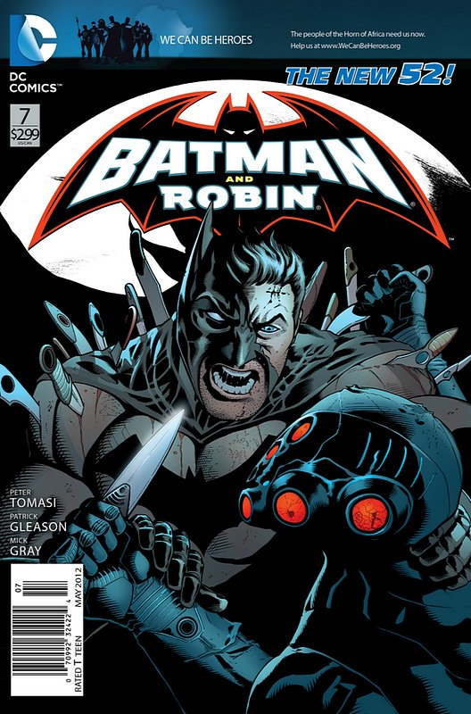 Cover of Batman and Robin (Vol 2) #7. One of 250,000 Vintage American Comics on sale from Krypton!