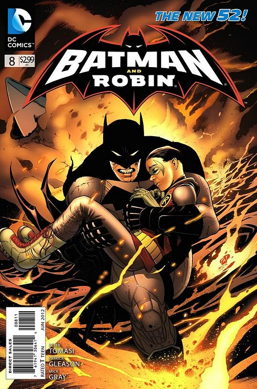 Cover of Batman and Robin (Vol 2) #8. One of 250,000 Vintage American Comics on sale from Krypton!