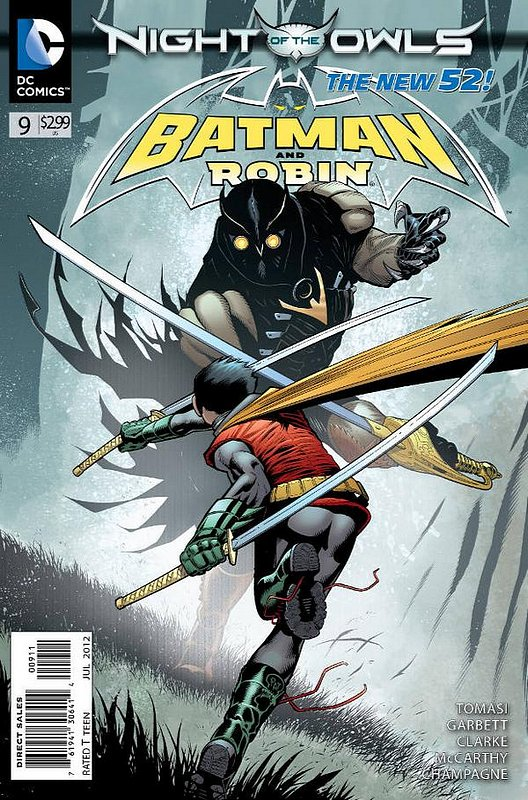 Cover of Batman and Robin (Vol 2) #9. One of 250,000 Vintage American Comics on sale from Krypton!