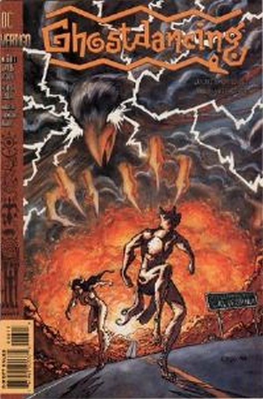 Cover of Ghostdancing (1995 Ltd) #6. One of 250,000 Vintage American Comics on sale from Krypton!