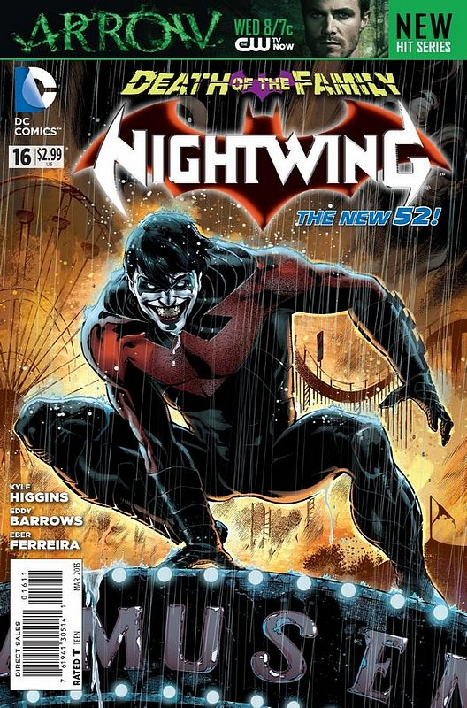 Cover of Nightwing (Vol 2) #16. One of 250,000 Vintage American Comics on sale from Krypton!