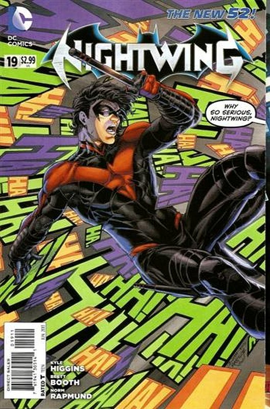 Cover of Nightwing (Vol 2) #19. One of 250,000 Vintage American Comics on sale from Krypton!