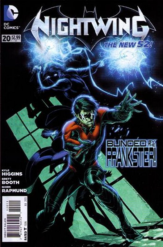 Cover of Nightwing (Vol 2) #20. One of 250,000 Vintage American Comics on sale from Krypton!