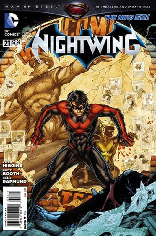 Cover of Nightwing (Vol 2) #21. One of 250,000 Vintage American Comics on sale from Krypton!