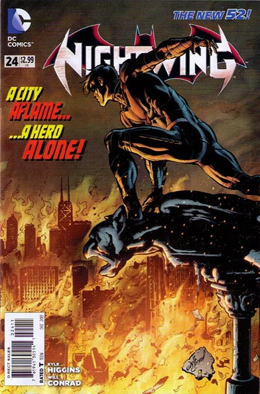Cover of Nightwing (Vol 2) #24. One of 250,000 Vintage American Comics on sale from Krypton!