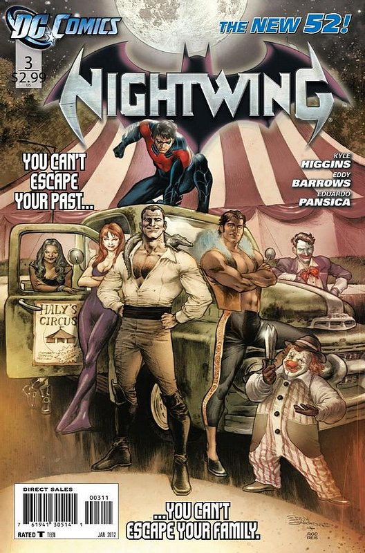 Cover of Nightwing (Vol 2) #3. One of 250,000 Vintage American Comics on sale from Krypton!