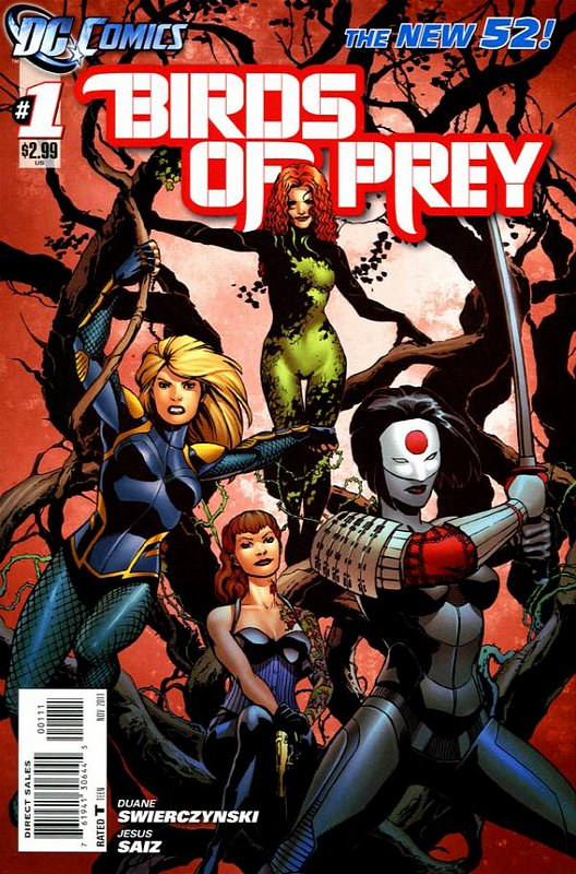 Cover of Birds of Prey (Vol 3) #1. One of 250,000 Vintage American Comics on sale from Krypton!