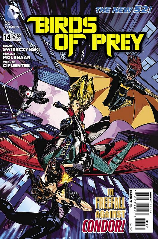 Cover of Birds of Prey (Vol 3) #14. One of 250,000 Vintage American Comics on sale from Krypton!