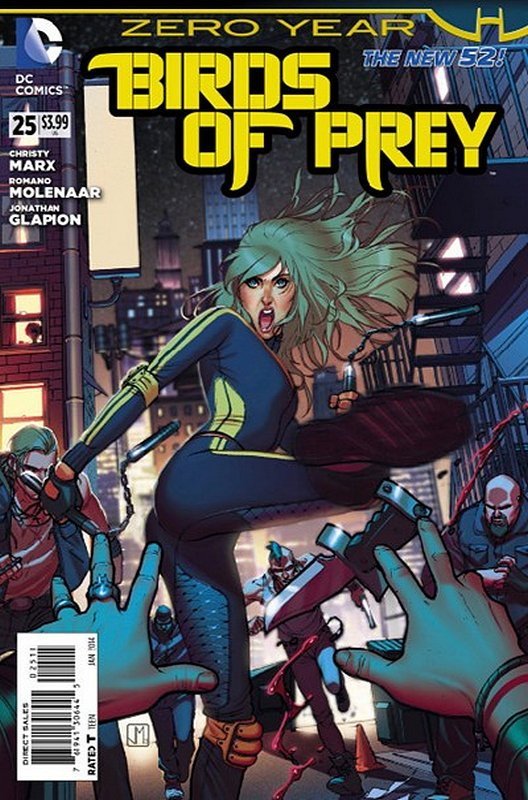 Cover of Birds of Prey (Vol 3) #25. One of 250,000 Vintage American Comics on sale from Krypton!