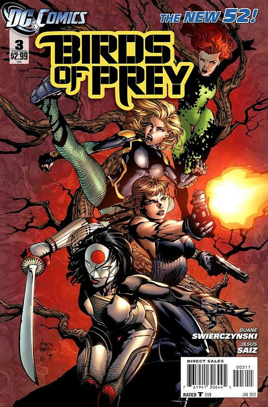 Cover of Birds of Prey (Vol 3) #3. One of 250,000 Vintage American Comics on sale from Krypton!