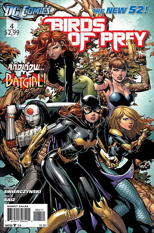 Cover of Birds of Prey (Vol 3) #4. One of 250,000 Vintage American Comics on sale from Krypton!