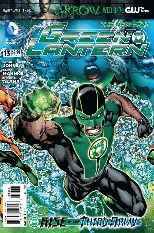 Cover of Green Lantern (Vol 5) #13. One of 250,000 Vintage American Comics on sale from Krypton!