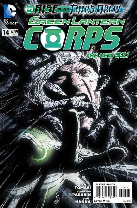 Cover of Green Lantern Corps (Vol 2) #14. One of 250,000 Vintage American Comics on sale from Krypton!