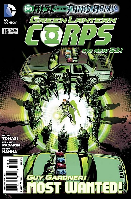 Cover of Green Lantern Corps (Vol 2) #15. One of 250,000 Vintage American Comics on sale from Krypton!