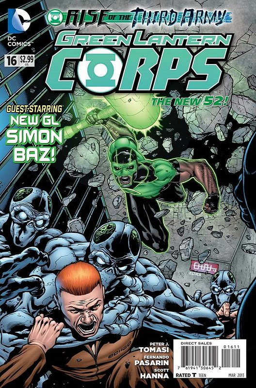 Cover of Green Lantern Corps (Vol 2) #16. One of 250,000 Vintage American Comics on sale from Krypton!
