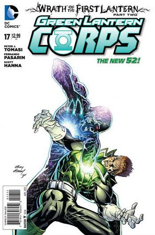 Cover of Green Lantern Corps (Vol 2) #17. One of 250,000 Vintage American Comics on sale from Krypton!