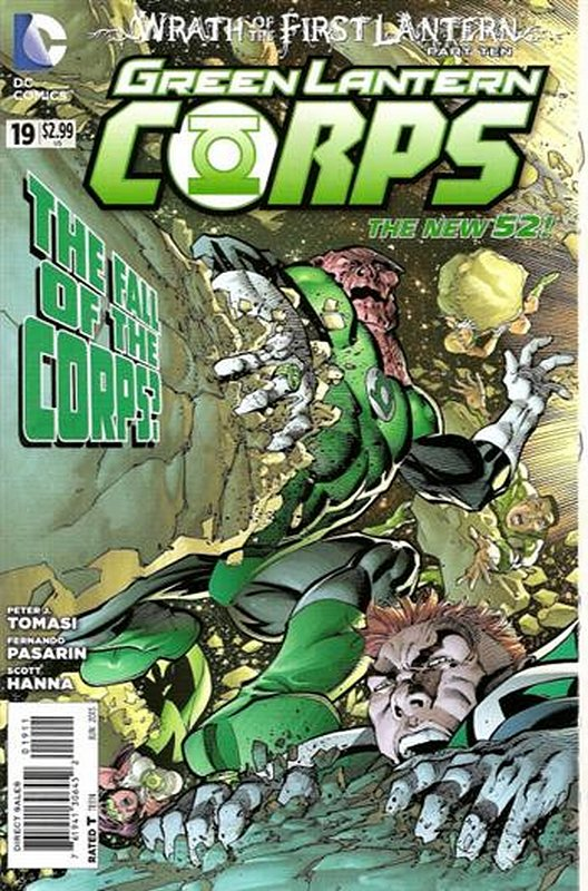 Cover of Green Lantern Corps (Vol 2) #19. One of 250,000 Vintage American Comics on sale from Krypton!