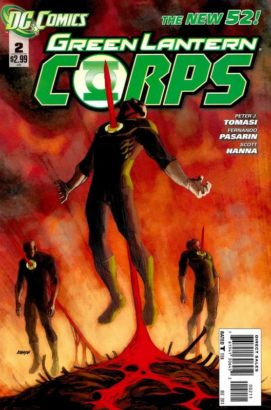 Cover of Green Lantern Corps (Vol 2) #2. One of 250,000 Vintage American Comics on sale from Krypton!