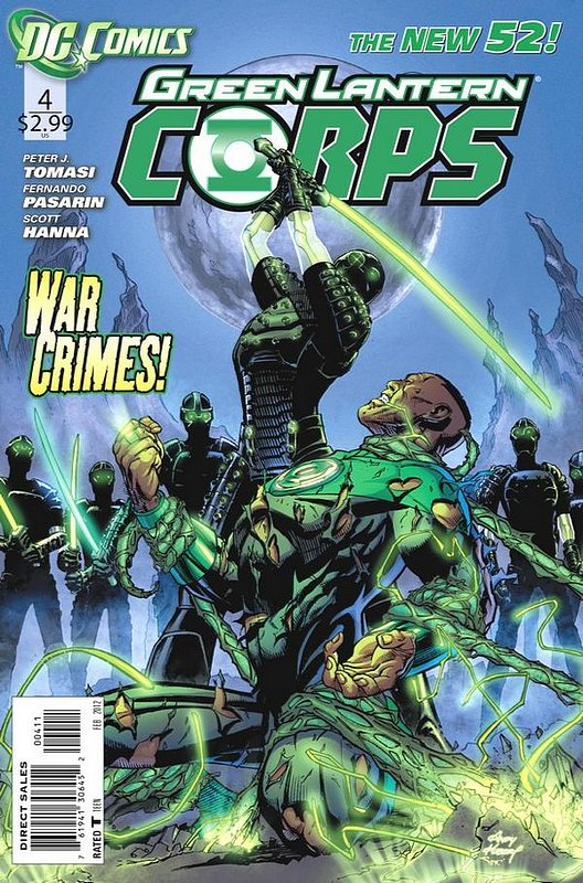 Cover of Green Lantern Corps (Vol 2) #4. One of 250,000 Vintage American Comics on sale from Krypton!