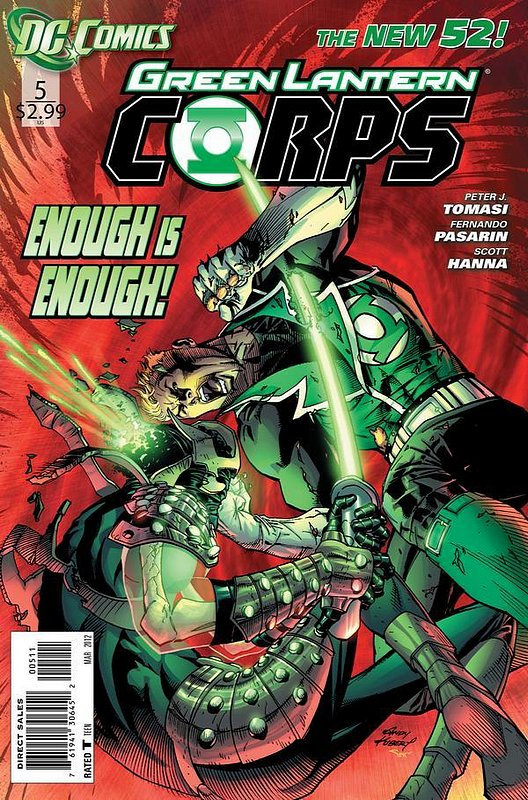 Cover of Green Lantern Corps (Vol 2) #5. One of 250,000 Vintage American Comics on sale from Krypton!