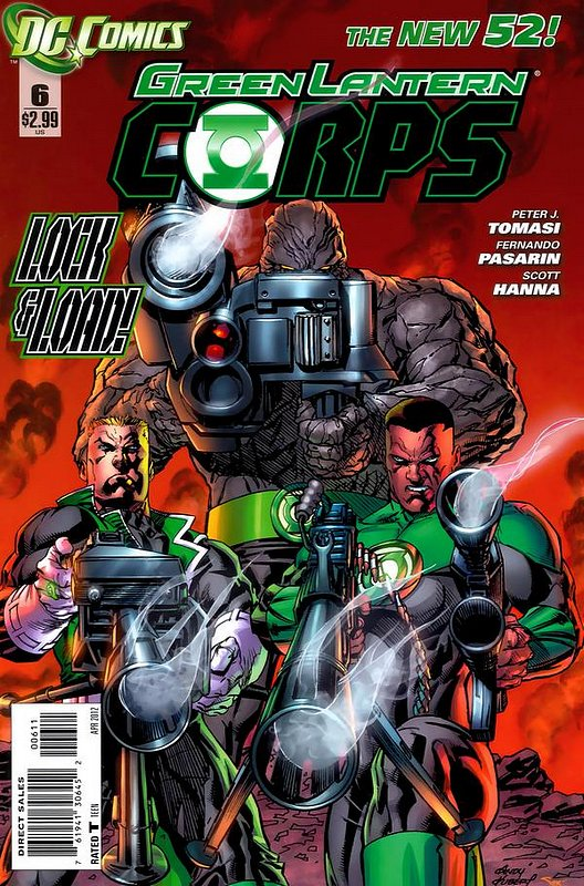 Cover of Green Lantern Corps (Vol 2) #6. One of 250,000 Vintage American Comics on sale from Krypton!