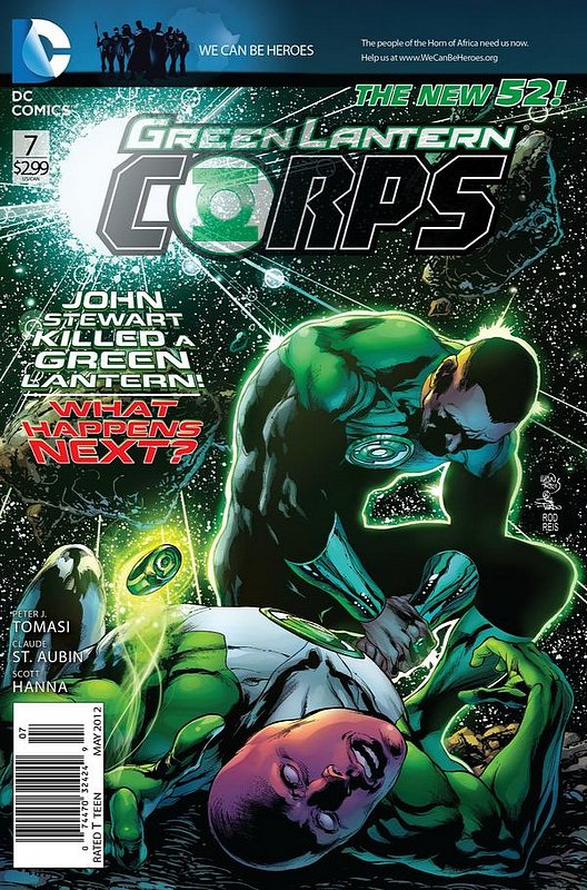 Cover of Green Lantern Corps (Vol 2) #7. One of 250,000 Vintage American Comics on sale from Krypton!