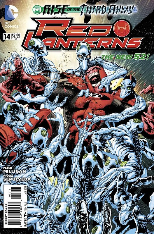 Cover of Red Lanterns (Vol 1) #14. One of 250,000 Vintage American Comics on sale from Krypton!