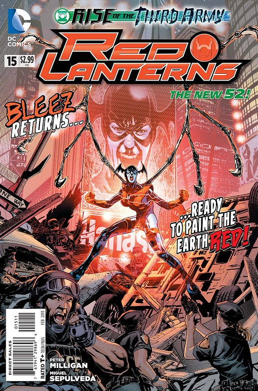 Cover of Red Lanterns (Vol 1) #15. One of 250,000 Vintage American Comics on sale from Krypton!