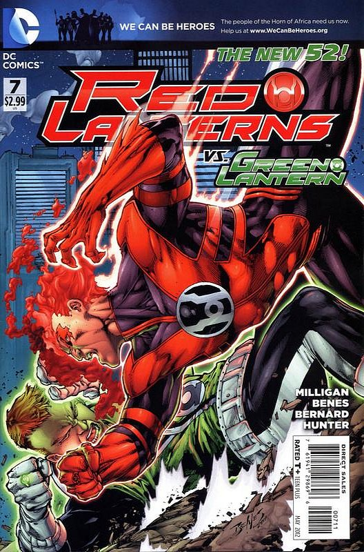 Cover of Red Lanterns (Vol 1) #7. One of 250,000 Vintage American Comics on sale from Krypton!