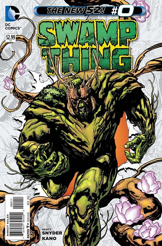 Cover of Swamp Thing (Vol 5) #0. One of 250,000 Vintage American Comics on sale from Krypton!