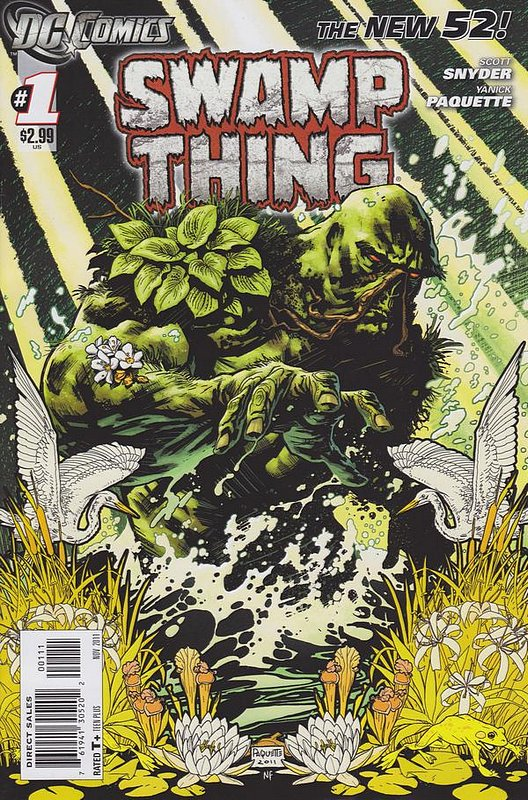 Cover of Swamp Thing (Vol 5) #1. One of 250,000 Vintage American Comics on sale from Krypton!