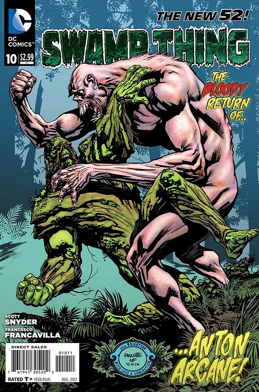Cover of Swamp Thing (Vol 5) #10. One of 250,000 Vintage American Comics on sale from Krypton!