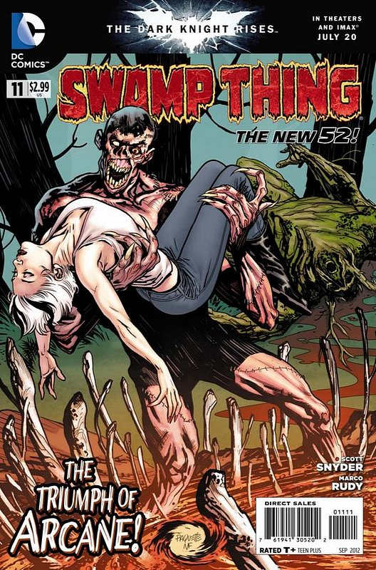 Cover of Swamp Thing (Vol 5) #11. One of 250,000 Vintage American Comics on sale from Krypton!