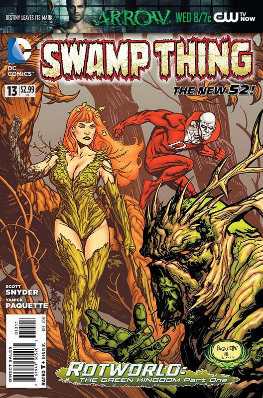Cover of Swamp Thing (Vol 5) #13. One of 250,000 Vintage American Comics on sale from Krypton!